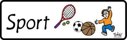Subject Sport