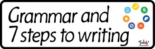 Grammar and 7 Steps to Writing