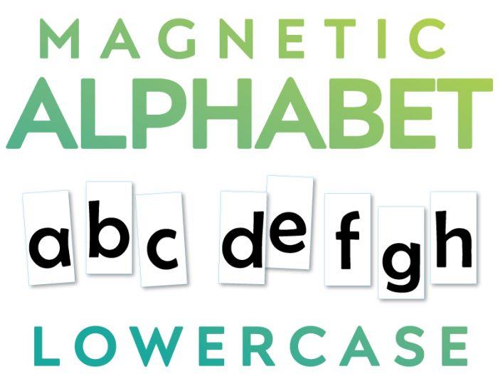 Magnetic Lowercase Alpabet Letters