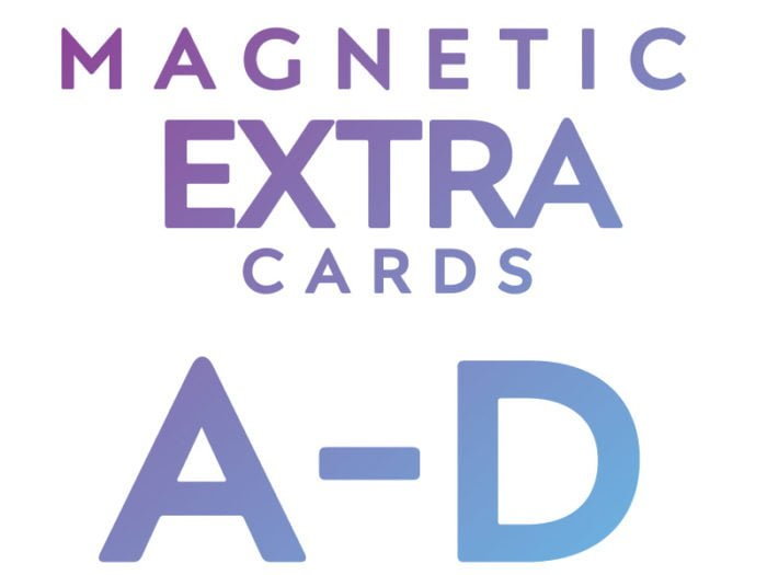 Extra Cards A - D