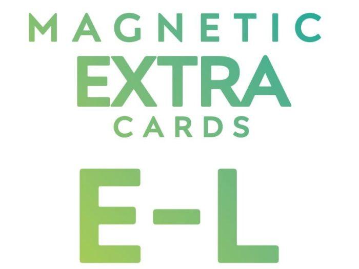 Extra Cards E - L