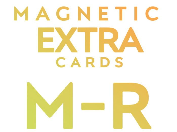 Extra Cards M - R