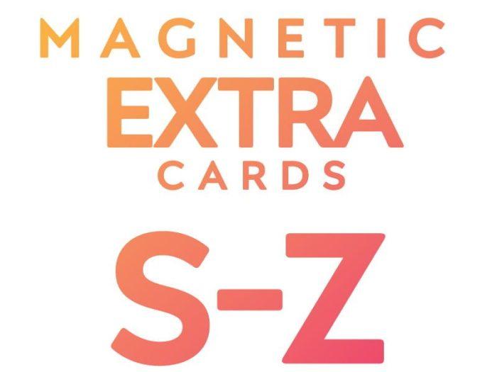 Extra Cards S - Z